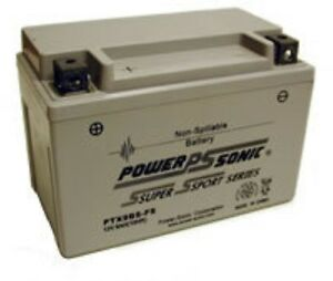 Cb-1 400cc Yr 89-90 12v 8ah 120 Cca Versiegelt Ptx9bs-fs Qualifiziert Batterie Honda Cb400f Akkus