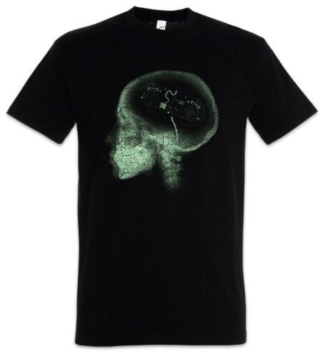 Gamer Brain T-Shirt Computer Science Scientist Gaming Games Fun Geek Nerd