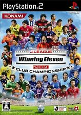 Used PS2 J-league Winning Eleven 2009 Club Championship Japan Import