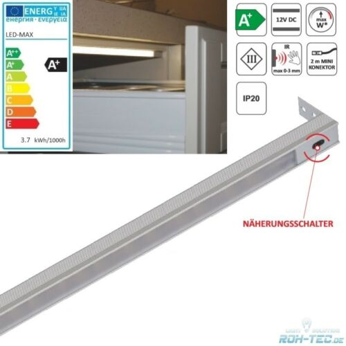 AN-//AUS-Funktion automtisch LED Lichtleiste Schublade 864mm lang 8W 322Lm