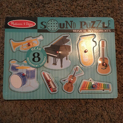 Childs Sound Puzzle Musical Instruments 10732 Kids Melissa And Doug Baby