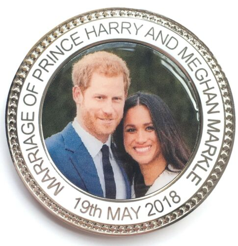 Gift Box Marriage of Prince Harry /& Meghan Markle 19th May Commemorative Coin