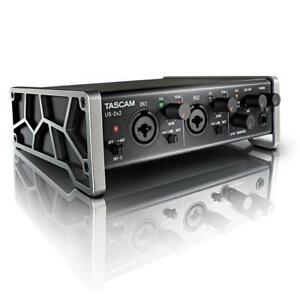 TASCAM US-2x2 USB 2-in/2-out Audio/MIDI Interface ( audio interface for studio recording ) Canada Preview