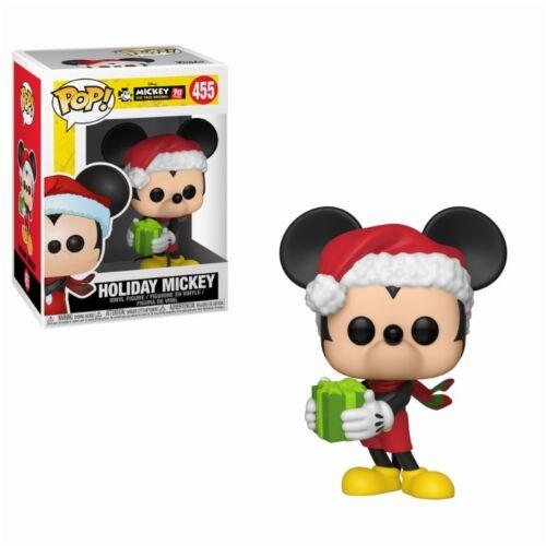 DISNEY #455 VINILE Funko Personaggio MICKEY Mouse Holiday MICKEY 90 years Pop
