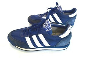 billig Details about Vintage Adidas Orion 80s Shoes Blue Maide In Taiwan Size EU38 UK5.5 US6  liefert