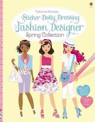 Sticker Dolly Dressing Fashion Designer Paris Collection By Fiona Watt 9781409581840 Ebay