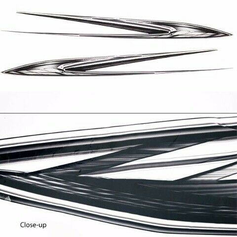 Set of 2 Boat Decals 05732004Glastron 09 GT 249 141 x 12 Inch