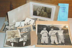 Original Photos Ensley High School-Birmingham Alabama-1952 Baseball-Ponder