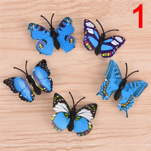 5X Schmetterling Haarspangen Braut Haarschmuck Hochzeit Fotografie Kostüm 4H