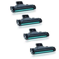 4PK MLT-D108S Black New Toner Cartridges for Samsung ML-1640, ML-2240