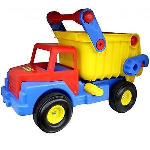 wader muldenkipper mit gummibereifung truck no 1 lastwagen bis 200 kg belastbar ebay. Black Bedroom Furniture Sets. Home Design Ideas