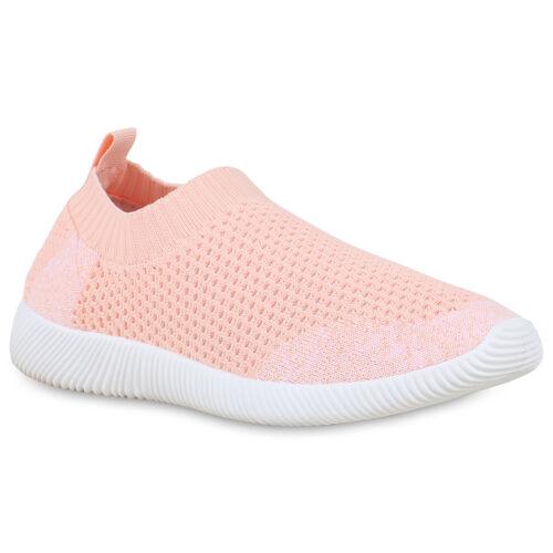 Damen Sportschuhe Strick Slip Ons Fitness Sneaker Laufschuhe 830232 Schuhe