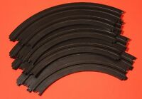Tomy Afx 9 radius Curve (1/4 Circle) Ho Slot Car Track - 4 Pc.