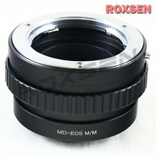Minolta MD MC mount lens to Canon EOS M M2 EF-M adapter Macro Focusing Helicoid