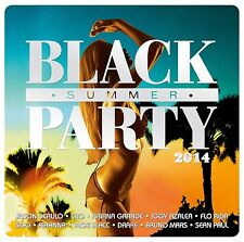 BLACK SUMMER PARTY 2014 2 CD NEU - ARIANA GRANDE, IGGY AZALEA, RITA ORA,PITBULL