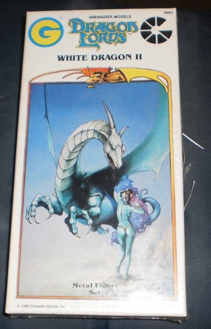 Grenadier 9603 Señores Dragón blancoo De Dragón Ii Completo En Caja Y Sellado