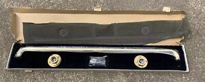 "Vintage GINGER Decorative Heavy Duty 36"" SAFETY GRAB BAR Solid Brass 08653"