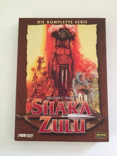 SHAKA ZULU, Die komplette Serie, William C. Faure's, Christopher Lee, DVD