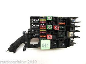 2013 VW Jetta Under Hood Engine Fuse Relay Box 5C0 937 819 ...