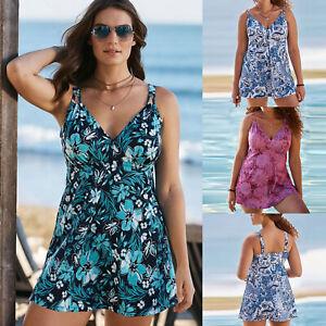 09cabcc887 Floral Femmes Maillot de Bain Bikini Soutien-Gorge Push-Up Slip 2PCS ...