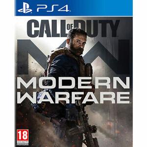 Videogioco-PS4-Call-of-Duty-MODERN-WARFARE-Nuovo-Italiano-Sony-PlayStation-4-COD