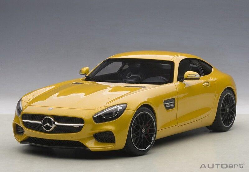 1 18 Autoart - Mercedes Benz AMG GT - S (Solar Beam) Full
