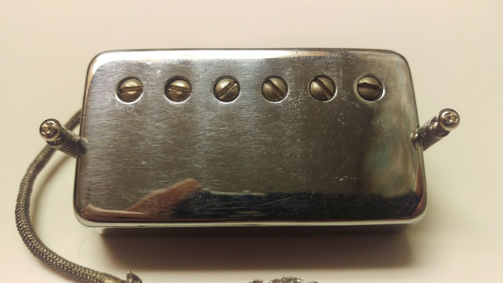 Gibson Tar Back Patent Number Humbucker 1970s