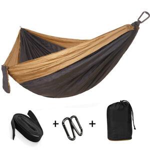 Grand-Double-Parachute-Camping-Hamac-Parachute-allonger-pour-exterieur-randonnee