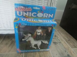 New Nib Avenging Unicorn Archie Mcphee 3 Annoying Figures To