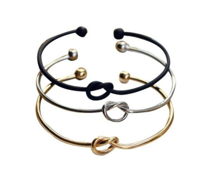 Bangle Bracelet Nail Women's Stainless Steel Fashion HOT Knot  Screw  Men's