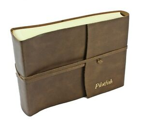 Papuro Amalfi Italian Hand Made Leather Photo Album Personalised