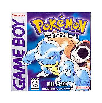 Game Boy Color Pokemon Blue Gameboy Color gbc Pokemon Blue Japan Game Boy Color