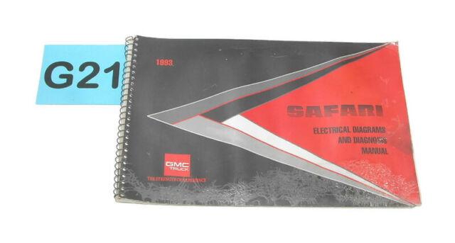 1993 Gmc Safari Factory Electrical Diagrams  U0026 Diagnosis