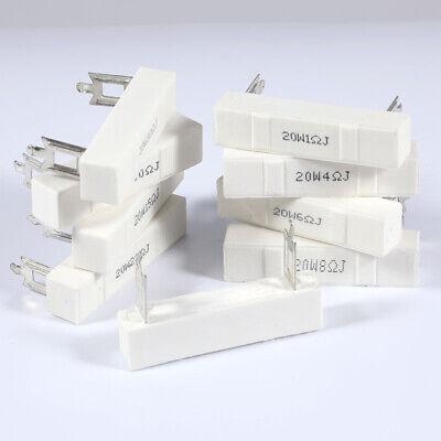 30W 1Ω~30Ω Horizontal cement resistor Audio Divider resistance Ceramic resistor