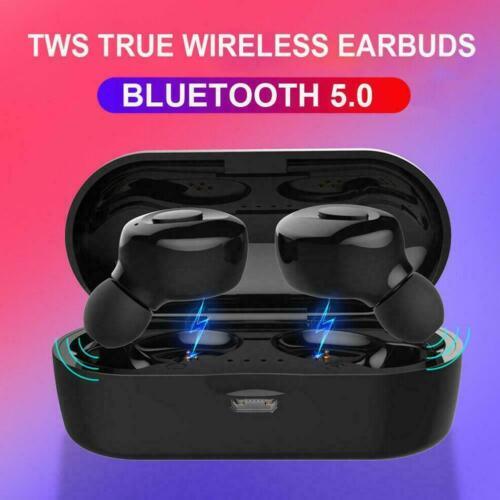 Bluetooth 5.0 Headset Drahtlose Kopfhörer Ohrhörer Stereo-In-Ear-Kopfhörer J6F4