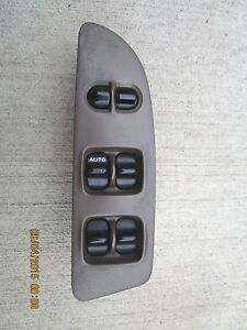 93 97 nissan altima driver side left side master power for 1997 nissan sentra power window switch