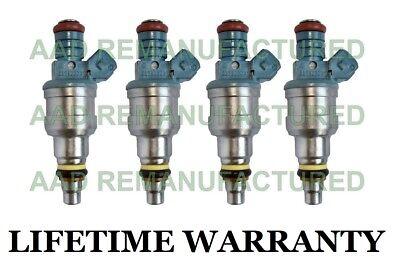 UPGRADED Set of 4 Fuel Injectors for 87-92 Volkswagen  #0280150902 #037906031C