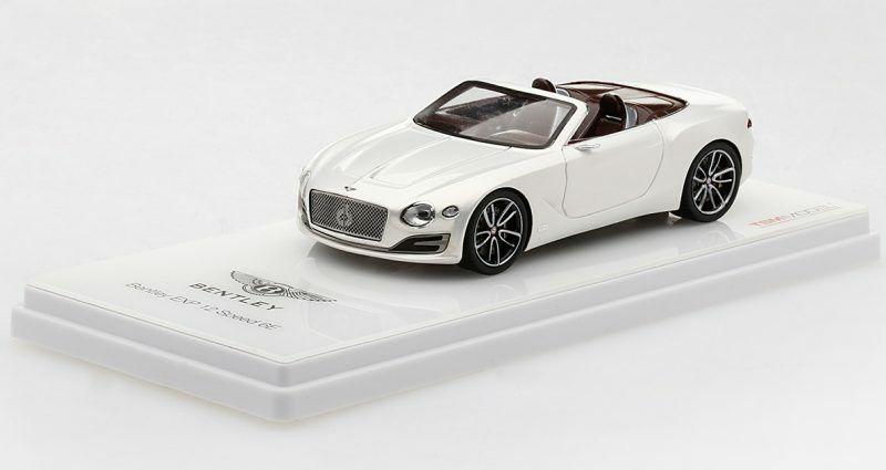 Bentley Exp 12 Speed 6e White 2017 1 43 Model TRUE SCALE MINIATURES