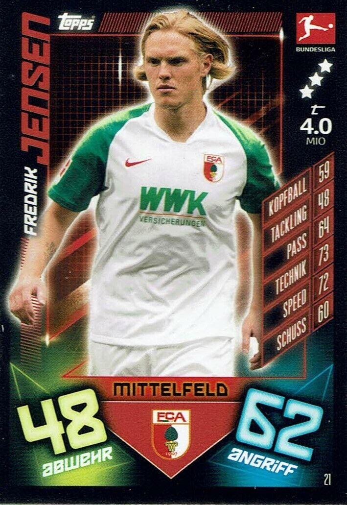Match Attax 19//20 Bundesliga 2019//2020 Basiskarte Karte Nr.96 Julian Brandt