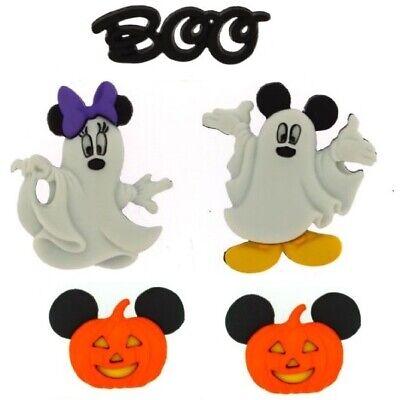 Jesse James Boutons ~ Dress It Up Disney Mickey /& Minnie Candy Corn ~ Halloween