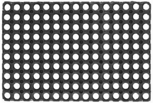 Zerbino forato gummy da esterni antiscivolo 40X80 cm ZANCONI 072222