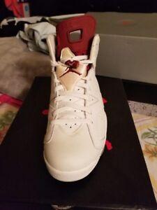 premium selection f5b2f 3e900 Image is loading Nike-Air-Jordan-Retro-6-Maroon-2015-Size-