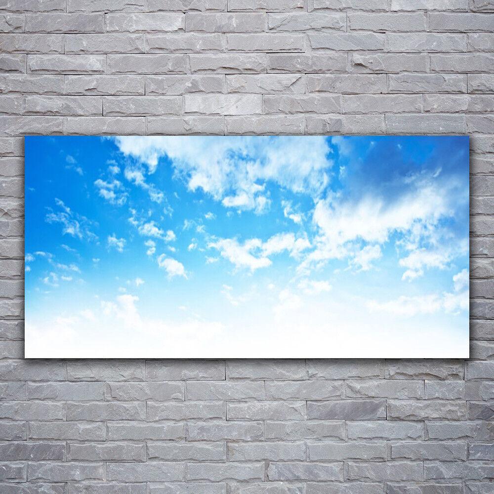 Murales cuadros presión de cristal presión cuadros sobre vidrio 120x60 cielo paisaje 94d135