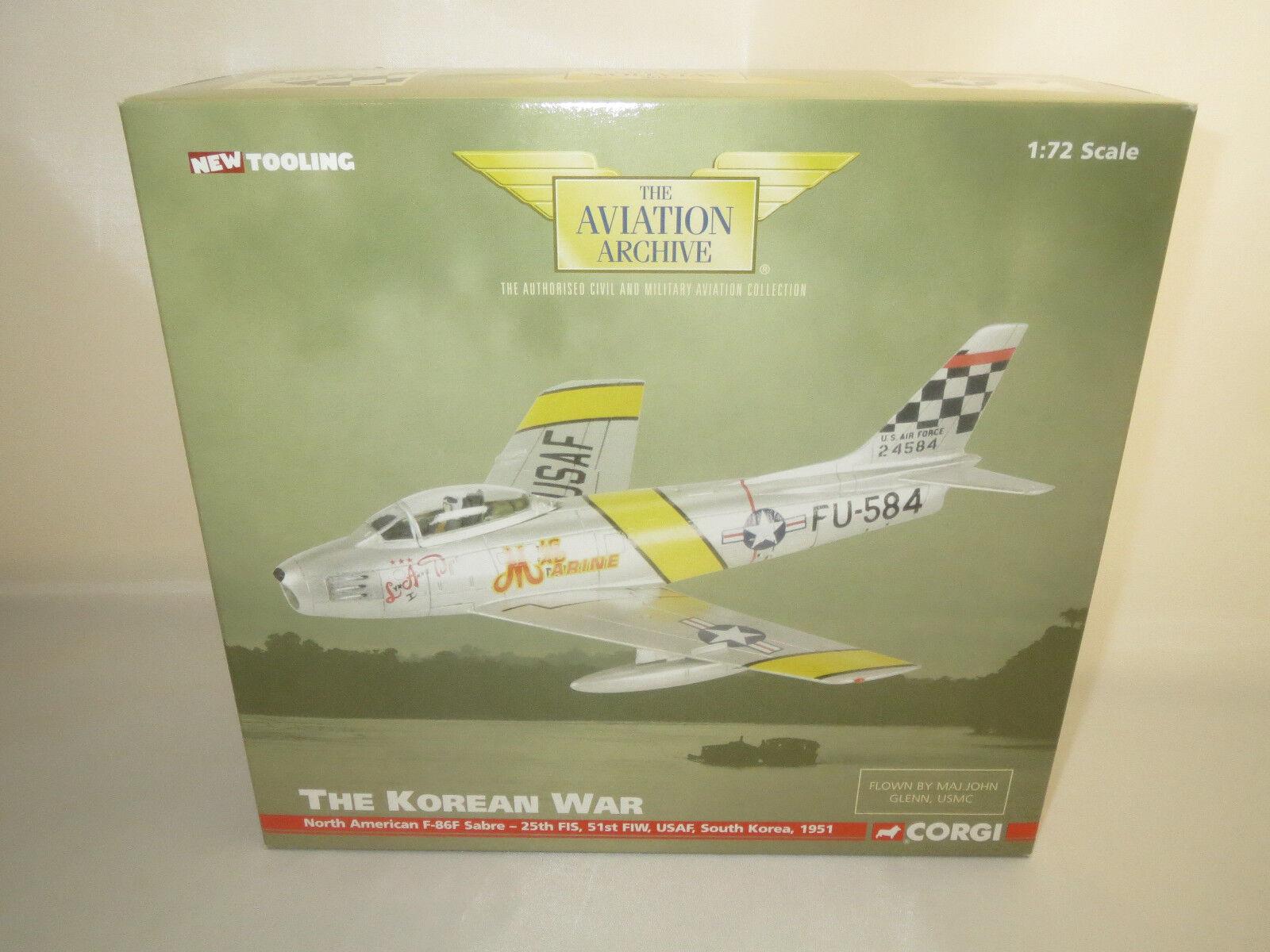 ordinare on-line CORGI  North American f-86f Sabre - - - 25th FIS, 51st FIW, USAF, 1951  1 72 OVP  100% nuovo di zecca con qualità originale