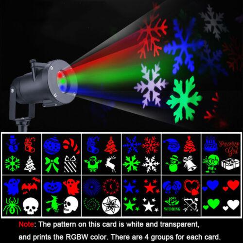 LED Projektor Laser DJ Lichteffekt Strahler Außenbeleuchtung Licht Innen außen