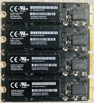 Toshiba THNSN2128GSPS 128gb SSD Apple MacBook #655-1816