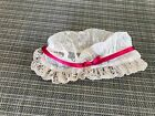 """American Girl 18"""" Doll Felicity Retired Gala Gown Outfit Dress Lace Mob Cap ONLY"""