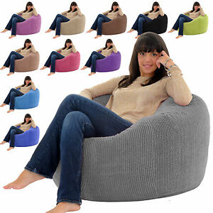 Amazing Details About Classic Monster Bean Bag Soft Snuggly Adult Beanbag Chair Big Bean Bag Bags Pdpeps Interior Chair Design Pdpepsorg