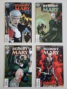 Bloody-Mary-1-2-3-4-1996-DC-Helix-Garth-Ennis-Set-Series-Run-Lot-1-4-VF-NM