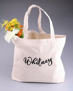 Personalized Market Bag Teacher Tote Bag Reusable Grocery Bag Gift For Her, Bridesmaid Tote Bag